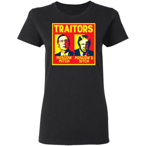 Traitors Ditch Moscow Mitch T-Shirts, Hoodies, Long Sleeve