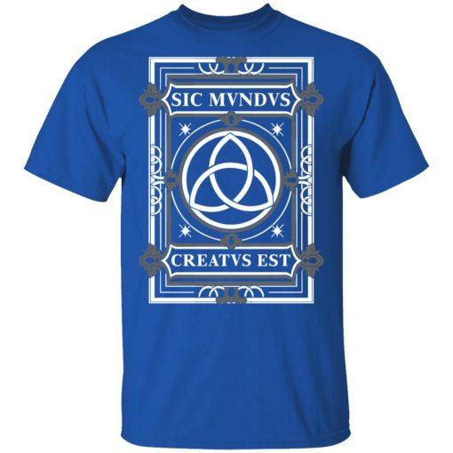 Sic Mvndvs Creatvs Est Sic Mundus Creatus Sci Fi T-Shirts, Hoodies, Long Sleeve