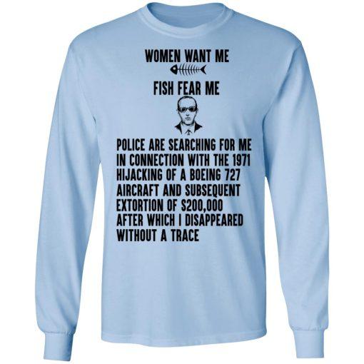 Women Want Me Fish Fear Me T-Shirts, Hoodies, Long Sleeve