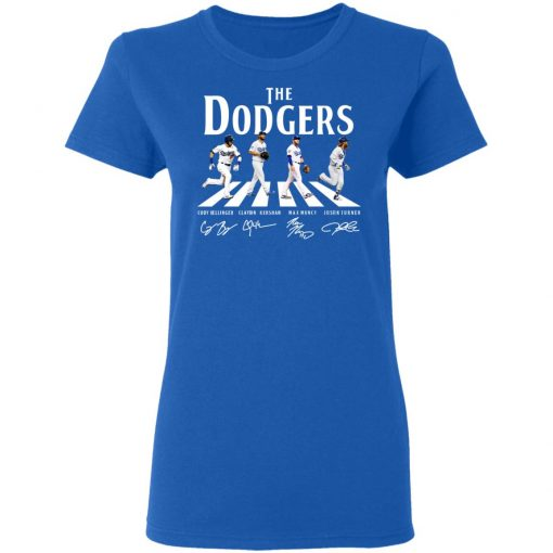 The Dodgers The Beatles Los Angeles Dodgers Signatures T-Shirts, Hoodies, Long Sleeve