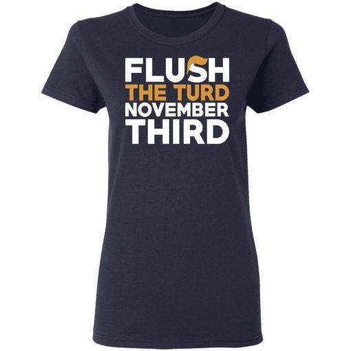 Flush The Turd November Third Anti-Trump T-Shirts, Hoodies, Long Sleeve
