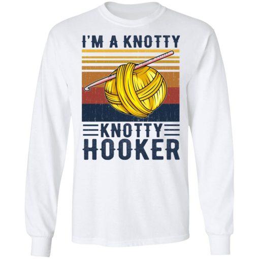 I'm A Knotty Knotty Hooker Knitting T-Shirts, Hoodies, Long Sleeve
