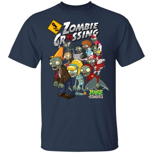 Zombie Grossing Plants vs Zombies T-Shirts, Hoodies, Long Sleeve