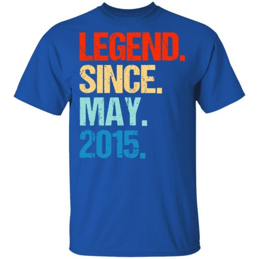 Legend Since May 2015 T-Shirts, Hoodies, Long Sleeve