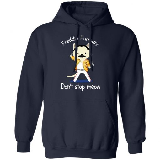 Freddie Purrcury Don't Stop Meow T-Shirts, Hoodies, Long Sleeve