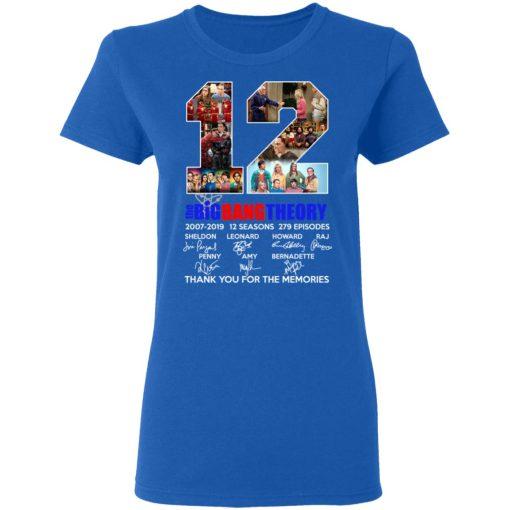 12 Years The Big Bang Theory T-Shirts, Hoodies, Long Sleeve