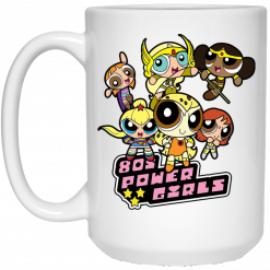 80's Power Girls Mugs