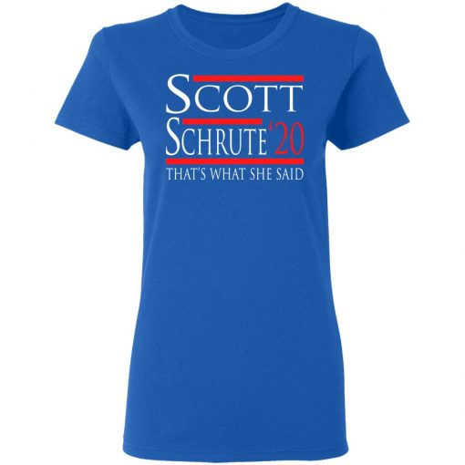 Scott Schrute 2020 – That's What She Said T-Shirts, Hoodies, Long Sleeve