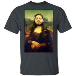 Post Malone Mona Lisa Smoking T-Shirts, Hoodies, Long Sleeve