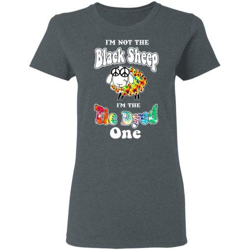 I'm Not The Black Sheep I'm The Tie Dyed One T-Shirts, Hoodies, Long Sleeve
