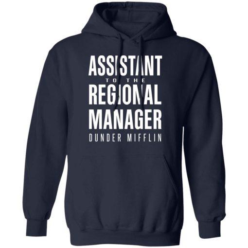 Dunder Mifflin Assistant To The Regioal Manager Dunder Mifflin T-Shirts, Hoodies, Long Sleeve
