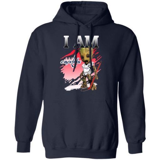 Washington Capitals I Am Groot T-Shirts, Hoodies, Long Sleeve