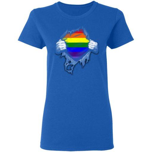 Rainbow Lesbian Gay Pride LGBT Super Strong T-Shirts, Hoodies, Long Sleeve
