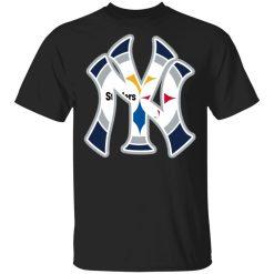 New York Yankees Pittsburgh Steelers T-Shirts, Hoodies, Long Sleeve