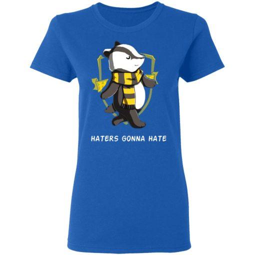 Harry Potter Helga Hufflepuff Haters Gonna Hate T-Shirts, Hoodies, Long Sleeve
