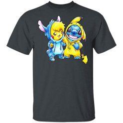 Cute Stitch Pokemon T-Shirts, Hoodies, Long Sleeve