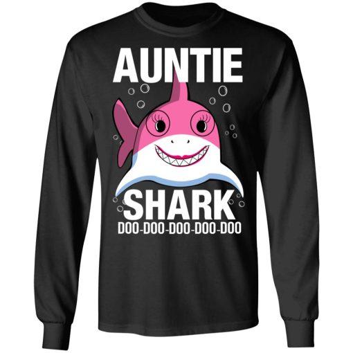 Auntie Shark Doo Doo Doo Doo Doo T-Shirts, Hoodies, Long Sleeve