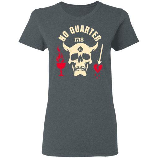 Black Beard No Quarter 1718 T-Shirts, Hoodies, Long Sleeve