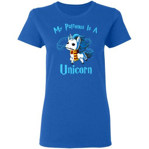 Unicorn Lovers My Patronus Is A Unicorn T-Shirts, Hoodies, Long Sleeve