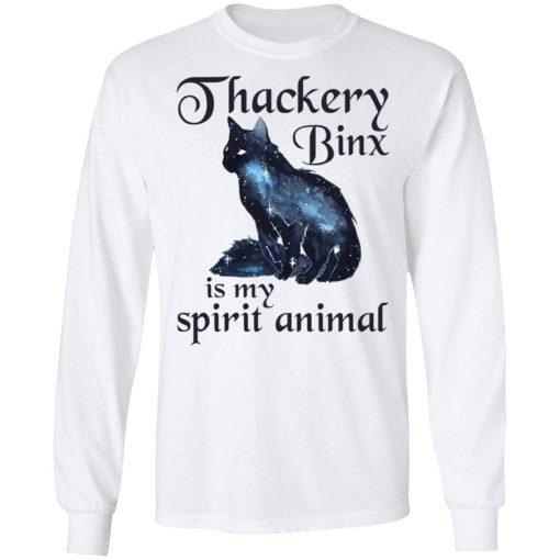 Hocus Pocus Thackery Binx is My Spirit Animal T-Shirts, Hoodies, Long Sleeve