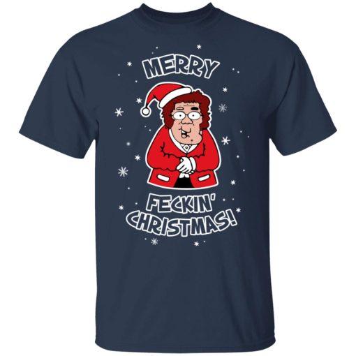 Mrs Browns Boys Merry Feckin' Christmas T-Shirts, Hoodies, Long Sleeve