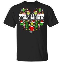 The Grinch I'm A Grinchaholic Christmas T-Shirts, Hoodies, Long Sleeve