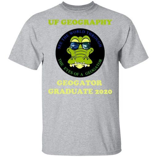 The UF Geography Seniors Geogator Graduate 2020 T-Shirts, Hoodies, Long Sleeve