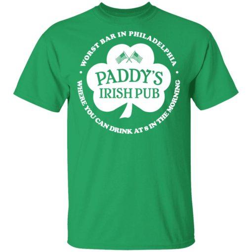 Paddy's Irish Pub Worst Bar In Philadelphia T-Shirts, Hoodies, Long Sleeve