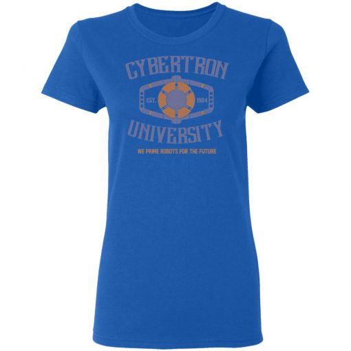 Cybertron University 1984 We Prime Robots For The Future T-Shirts, Hoodies, Long Sleeve