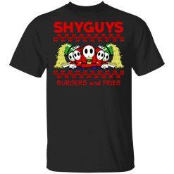Shyguys Burgers And Fries T-Shirts, Hoodies, Long Sleeve