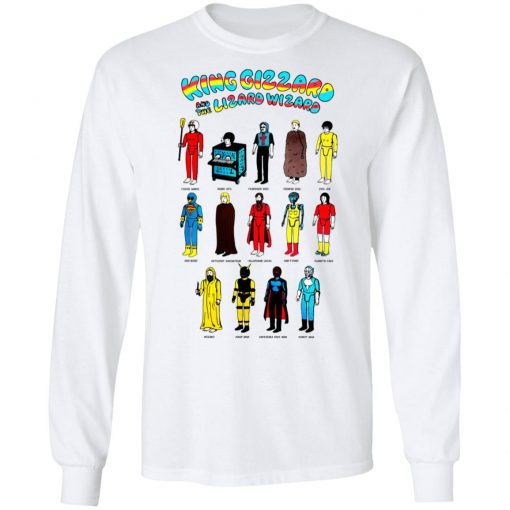 King Gizzard And The Lizard Wizard Toys T-Shirts, Hoodies, Long Sleeve