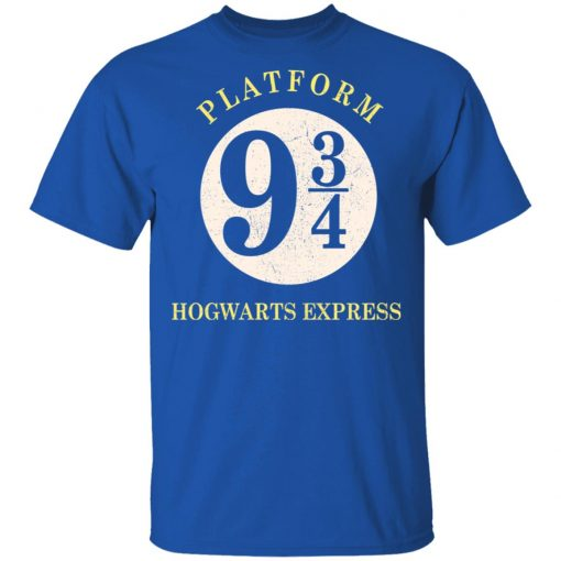 Platform 9 3-4 Hogwarts Express Harry Potter T-Shirts, Hoodies, Long Sleeve