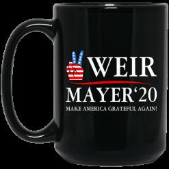 Weir Mayer 2020 Make America Grateful Again Mug