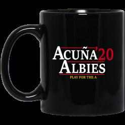 Acuna Albies 2020 Play For The A Mug