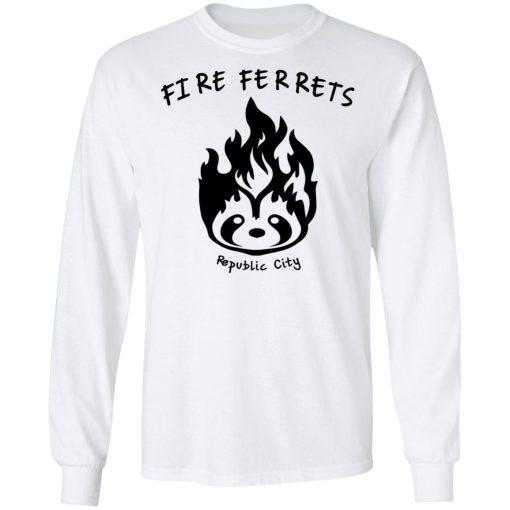 Fire Ferrets Republic City T-Shirts, Hoodies, Long Sleeve