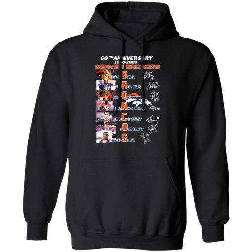 60th Anniversary Denver Broncos 1960 2020 T-Shirts, Hoodies, Long Sleeve