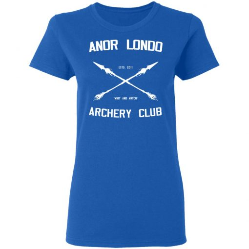 Anor Londo Archery Club 2011 T-Shirts, Hoodies, Long Sleeve