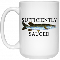 Sufficiently Sauced Mug