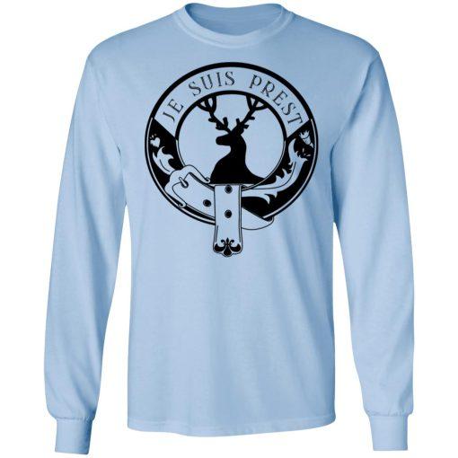 Je Suis Prest Logo #Outlander T-Shirts, Hoodies, Long Sleeve