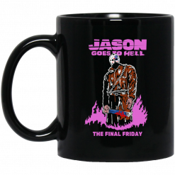 Jason Goes To Hell The Final Friday Black Mug