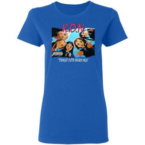 K.O.N Straight Outta Sakura High T-Shirts, Hoodies, Long Sleeve