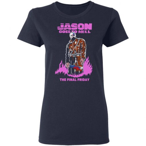 Jason Goes To Hell The Final Friday T-Shirts, Hoodies, Long Sleeve