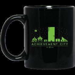 Achievement Hunter Achievement City Black Mug