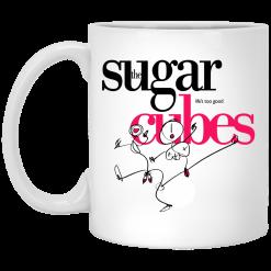 The Sugar Life's Too Good Cubes White Mug