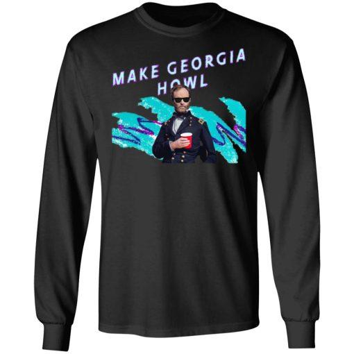 William Tecumseh Sherman Make Georgia Howl T-Shirts, Hoodies, Long Sleeve