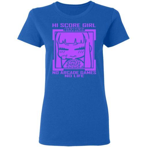 Hi Score Girl Oono Akira No Arcade Games No Life T-Shirts, Hoodies, Long Sleeve