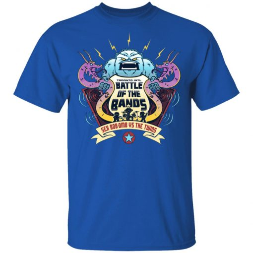 Battle Of The Bands Sex Bob-omb Vs The Twins T-Shirts, Hoodies, Long Sleeve