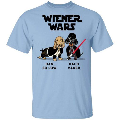 Dachshund Star Wars Shirts Wiener Wars Han So Low Dach Vader T-Shirts, Hoodies, Long Sleeve