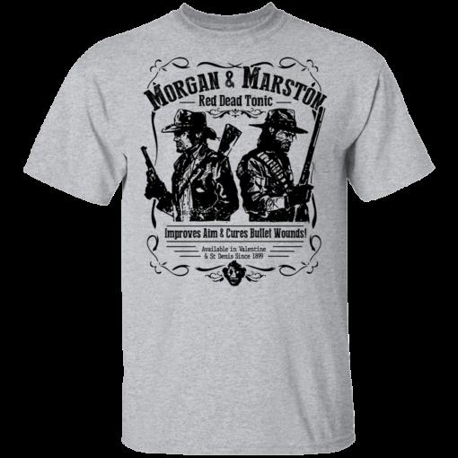 Morgan & Marston Red Dead Tonic T-Shirts, Hoodies