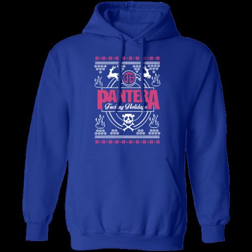 Pantera Fucking Holidays Christmas Sweatshirt, Hoodies
